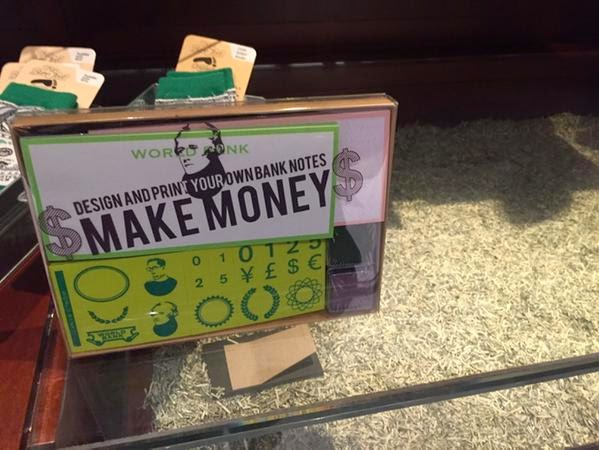 Print your own money.