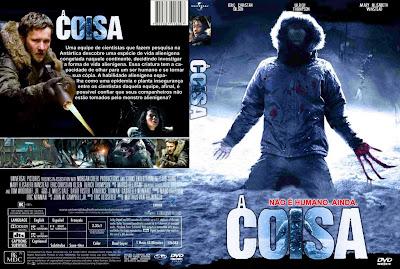 A Coisa 2011 DVD Capa
