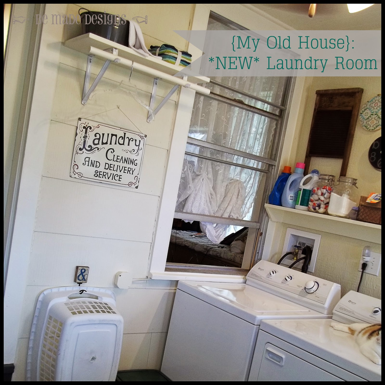 Be Made My Old House My New Laundry Mud Room