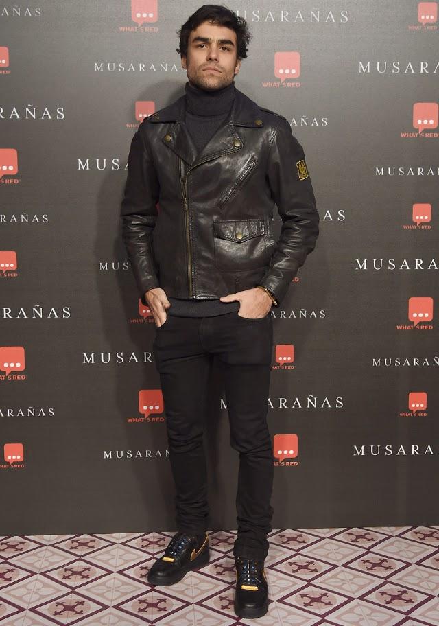 diego osorio con chaqueta belstaff