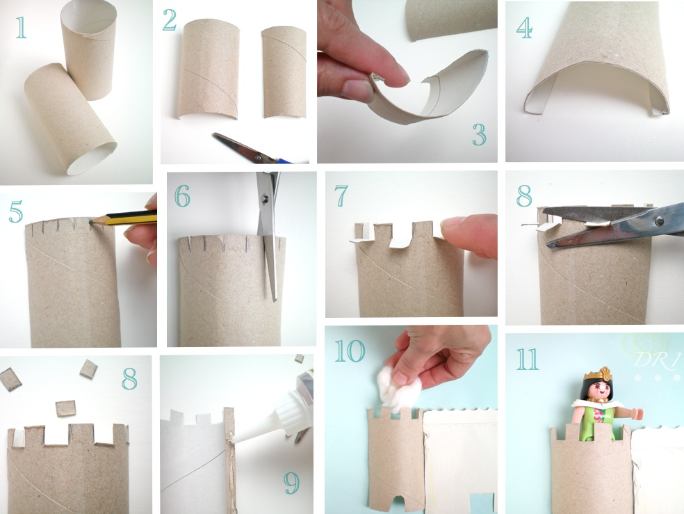 Делать из картона и бумаги своими руками