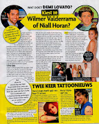 . Wilmer (Valderrama, Demi's ex). They also noticed Harry has a new tattoo .