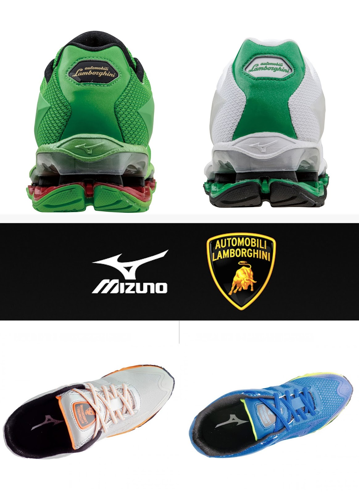 Eniwhere Fashion - News on Fashion - Mizuno & Lamborghini