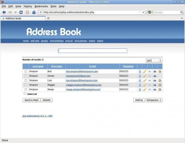 pfe   application de gestion des contacts et groupe avec