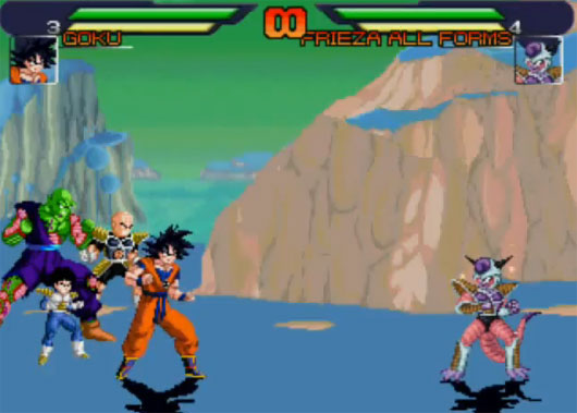 Dragon Ball Z MUGEN Songoku n friend Picture
