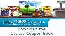 Download the Current August 2017 Costco Coupon Book