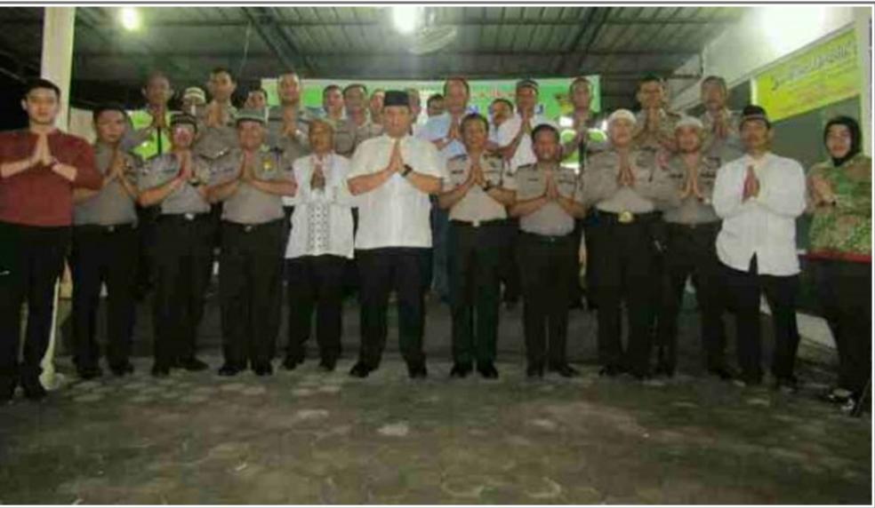 Polsek Medan Baru Buka Puasa Bersama TNI dan Muspika