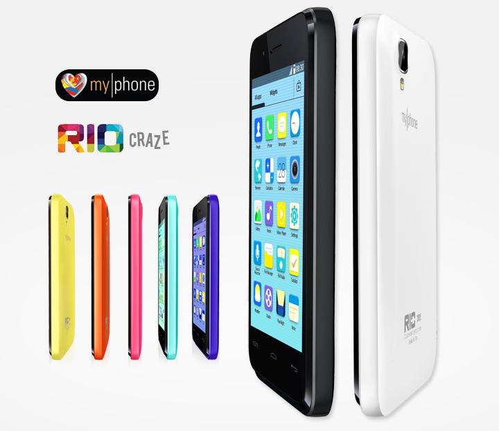 MyPhone Rio Craze Now Official – Android 4.4 Kitkat for ₱1,999 Only with Colorful Back Covers