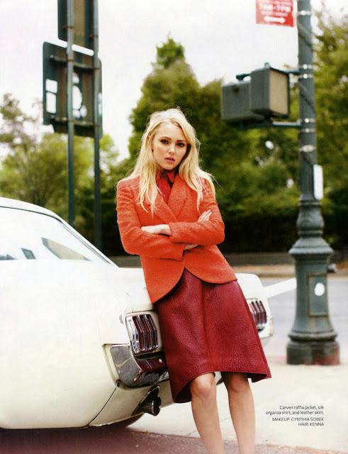 AnnaSophia Robb InStyle Magazine 2013