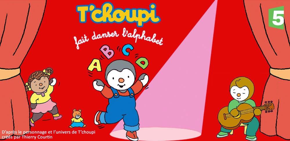 T'choupi fait danser l alphabet