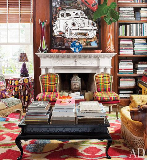die wohngalerie sig bergamin oder wie bunt darf mein haus. Black Bedroom Furniture Sets. Home Design Ideas
