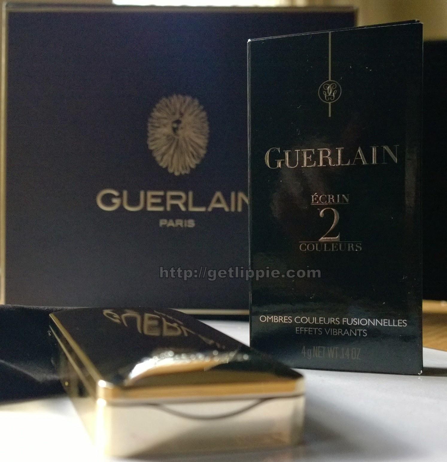 Guerlain Christmas 2014 -  L'Ecrin 2 Couleurs in Cygne Noir
