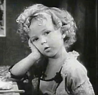 Last night I dreamed I met Shirley Temple. Photo from Wikimedia Commons - public domain