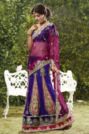 Indian-Bridal-Wear-Saree