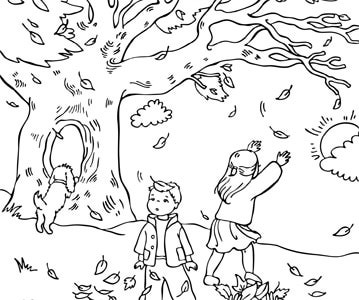 Autumn Coloring Pages3