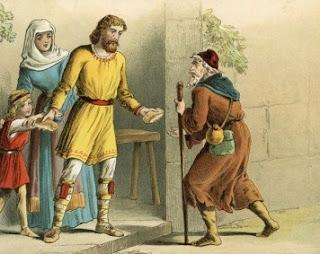 ஆல்ப்ரெட் ராஜாவும் பிச்சைக்காரனும் | King Alfred and the Beggar Moral Story for Kids