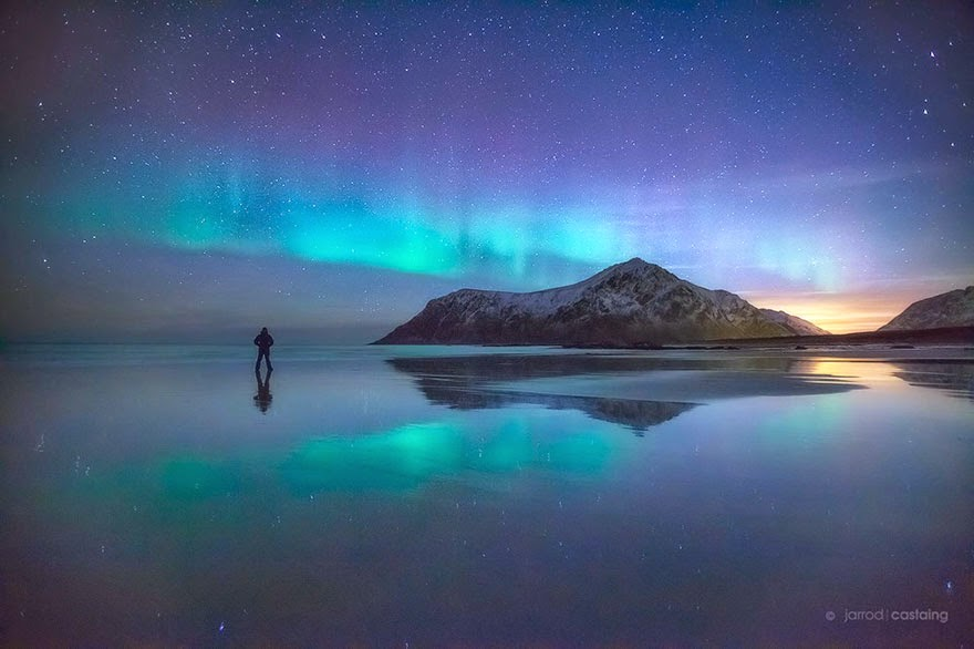 spectacular photos of the night sky around the world - snow addiction