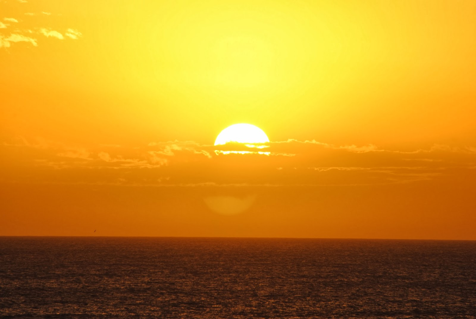 Big Sun with a 300 lens in villa gesell argentina