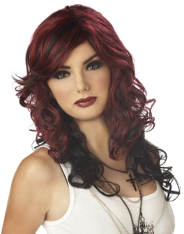 Burgundy Hair Color - Hair Color Styles