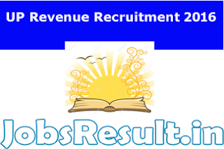 UP Revenue Recruitment 2016
