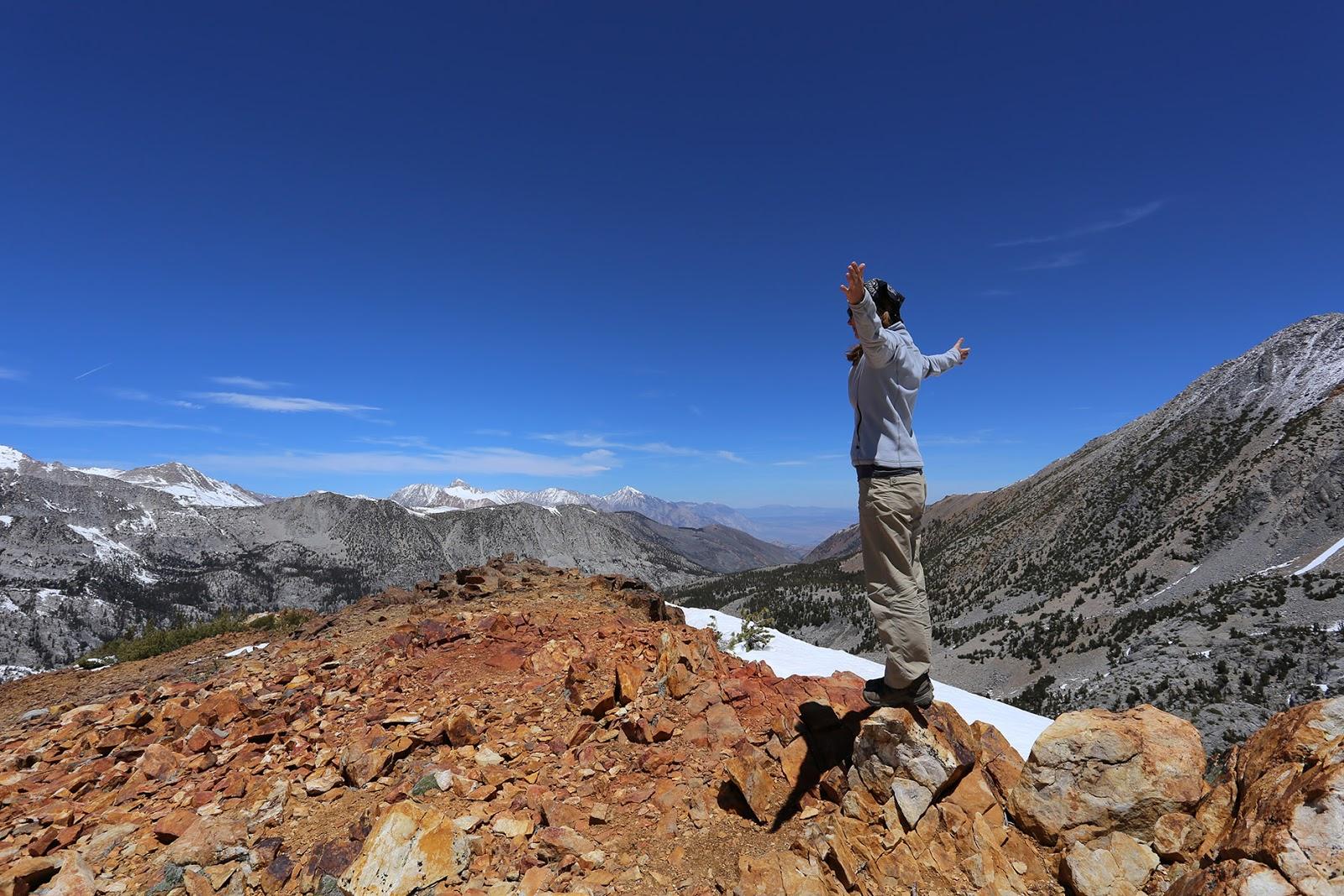 Chocolate Peak Summit, Sierra Nevada