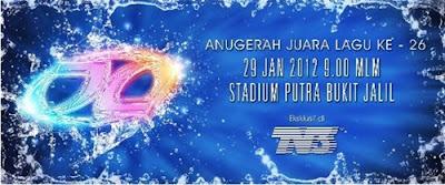 Anugerah Juara Lagu Ke 26 AJL26 2012
