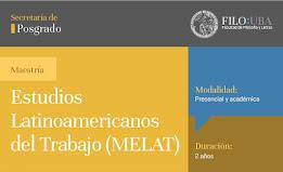 MAESTRÍA DE ESTUDIOS LATINOAMERICANOS DEL TRABAJO (UBA)