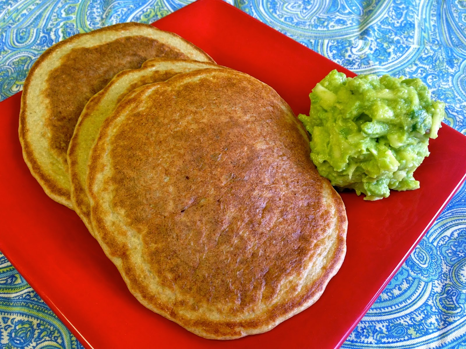soaked grains/seeds pancakes