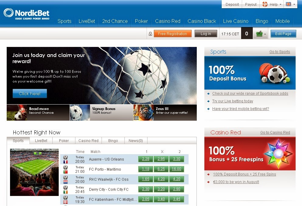 Nordicbet Sportsbook