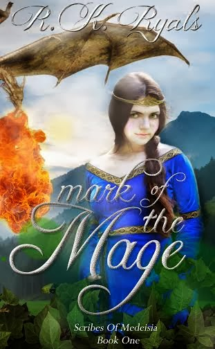 http://www.amazon.com/Mark-Mage-Scribes-Medeisia-Ryals-ebook/dp/B00B5I2K1I/ref=sr_1_7?s=digital-text&ie=UTF8&qid=1391406295&sr=1-7&keywords=RK+Ryals
