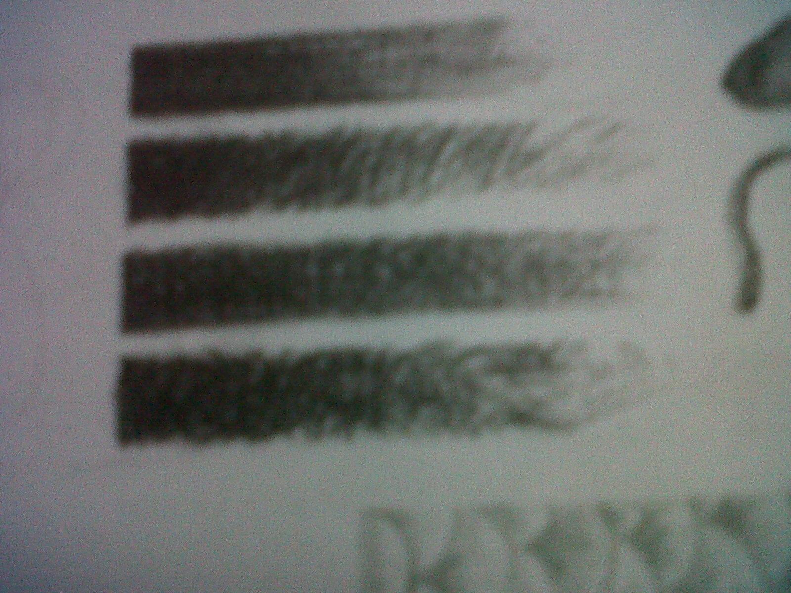 Arsir merupakan cara menggambar dengan garis-garis sejajar atau