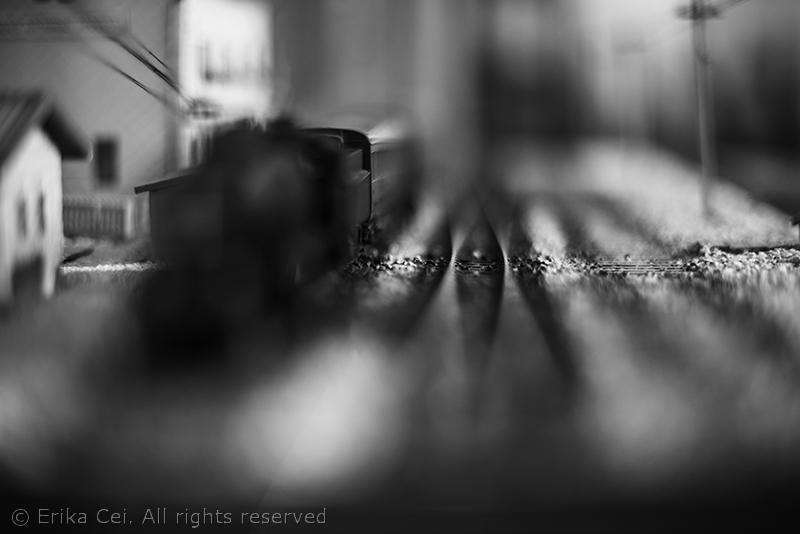 Stazione di Campo Marzio Trieste modellino treno
