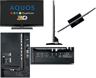 harga 3D LED TV Full HD Sharp Quattron LC-52LE830
