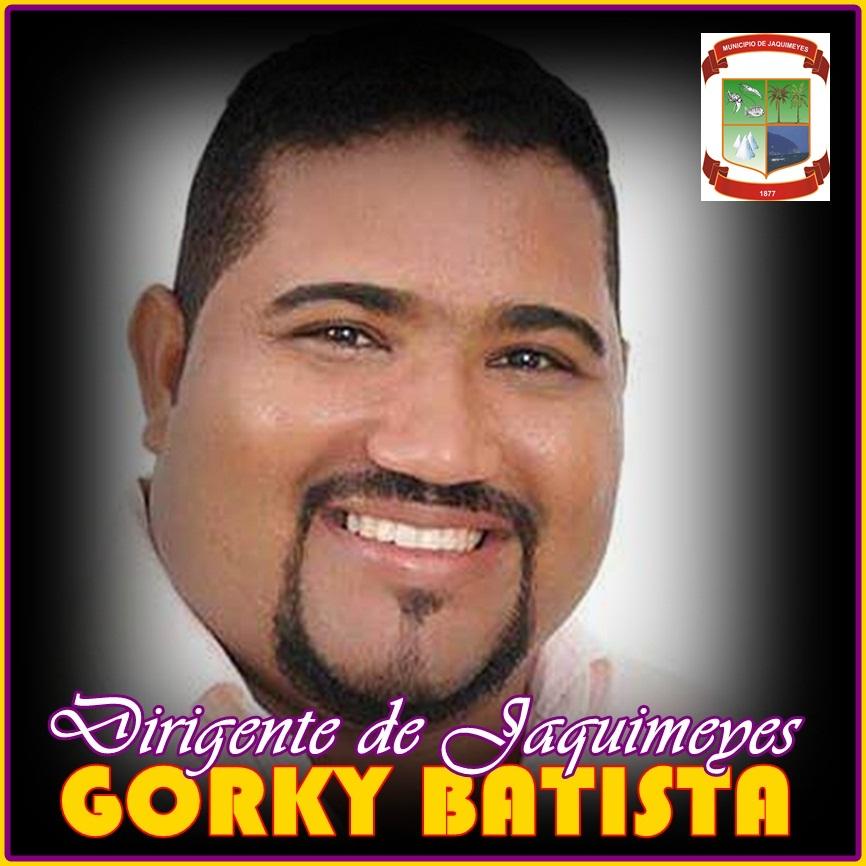 GORKY BATISTA, DIRIGENTE DEL PLD EN EL MUNICIPIO DE JAQUIMEYES