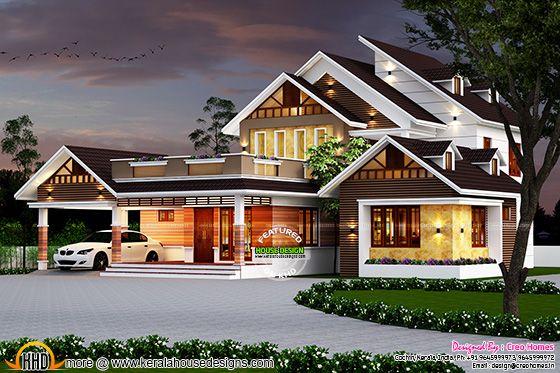 2992 sq ft modern house at thrisuur kerala home design thrissur interior design kerala home design and floor plans