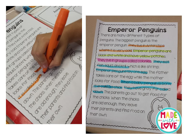 finding information in informational text