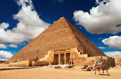 Pirámide de Giza en el antiguo Egipto - Arqueología