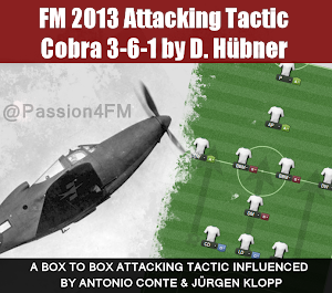 Football Manager 2013 Attacking Tactic Cobra 3-6-1