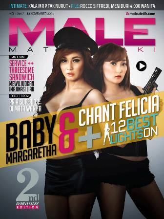 Download Gratis Majalah MALE Mata Lelaki Edisi 106 Cover Model Baby Margaretha & Chant Felicia | MALE Mata Lelaki 106 Indonesia | Cover MALE 106 Baby Margaretha & Chant Felicia | www.insight-zone.com