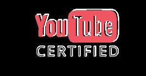 Youtube Certified logo