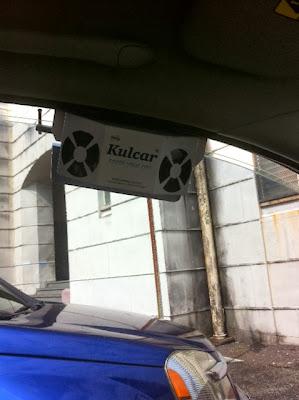 Kulcar solar powered car ventilator