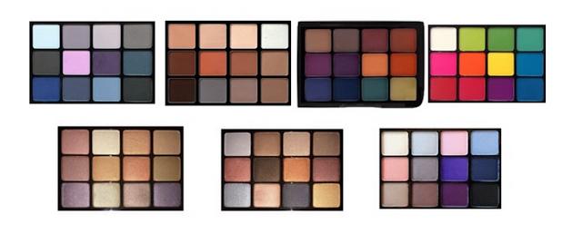 viseart eyeshadow palettes