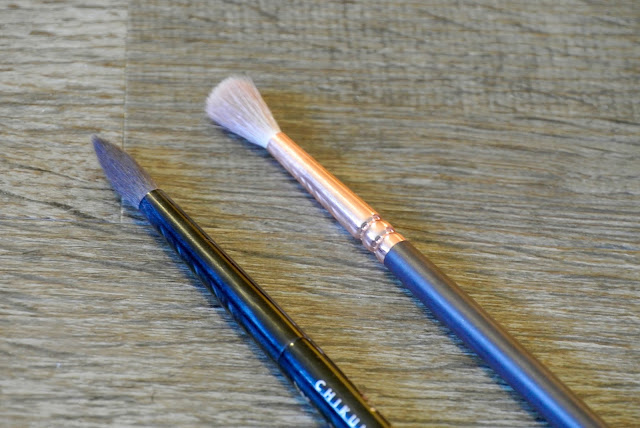 Sakura Crease Brush & Zoeva Luxe Defined Crease Brush