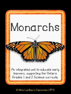 Differentiated Monarch Caterpillar and Butterfly Inquiry Study for Primary Learners