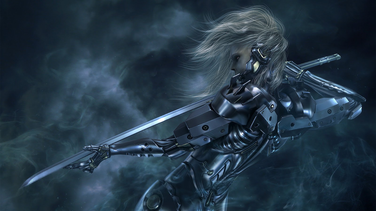 metal gear solid rising raiden HD Metal Gear Rising: Revengeance Wallpapers in HD
