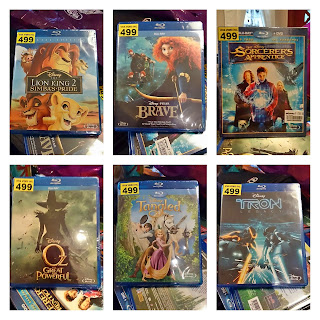 disney, brave, tangled, blu-ray, tron, oz, lion king, sorcerer apprentice