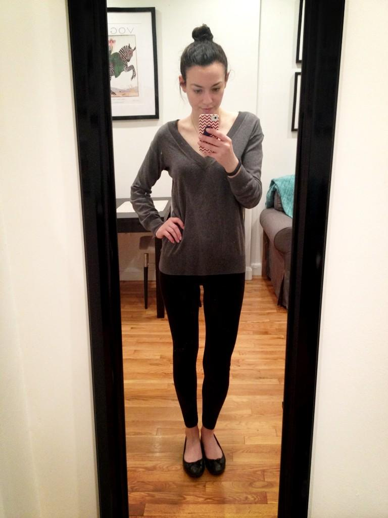 Leggings as Pants - The College Prepster