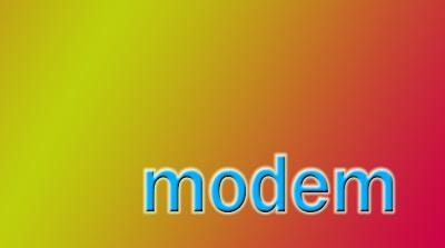 Standar Modem