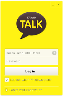 KakaoTalk PC Account