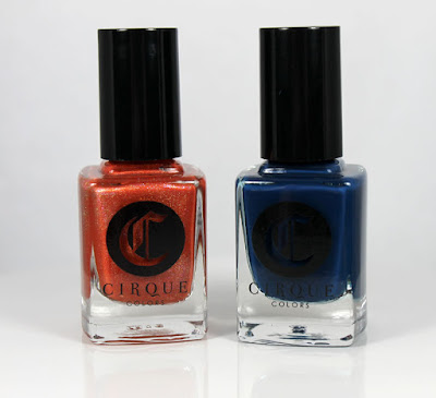 Cirque Colors Icon Duo Tangerine Dream & Selvedge